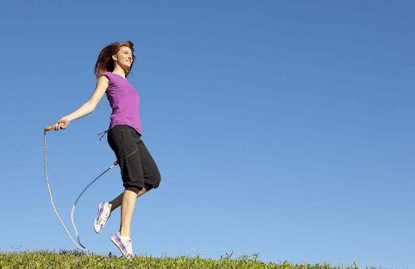 女人跳绳会延缓衰老