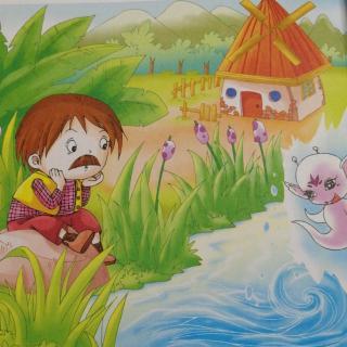 池塘里的水妖精