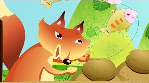 列那狐偷鱼