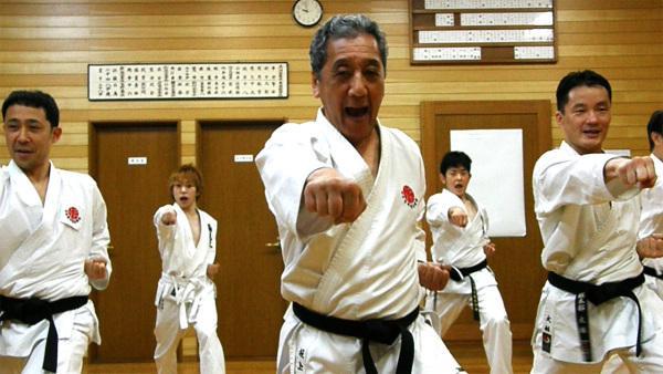 空手道后手直拳训练