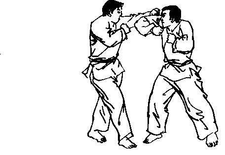空手道挑肘训练