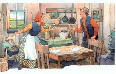 渔夫和他的妻子