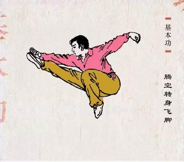 武术跳跃动作的训练
