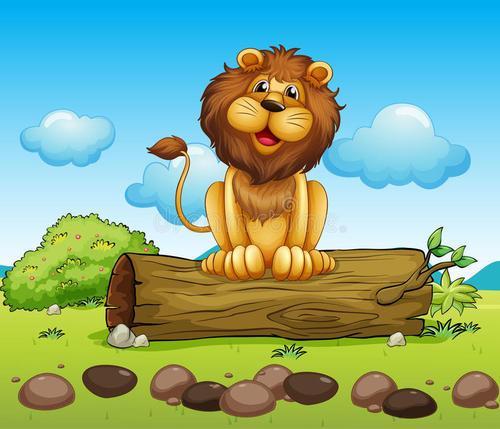 快乐的狮子