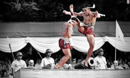 在曼谷看泰拳