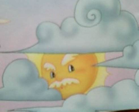 太阳公公生病了
