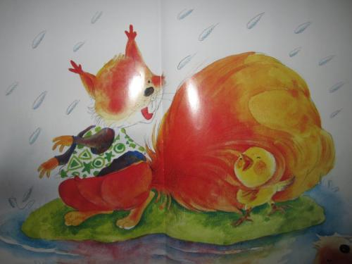 没有尾巴的小鸡