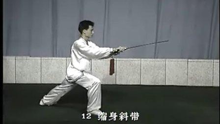 陈微明的太极对剑