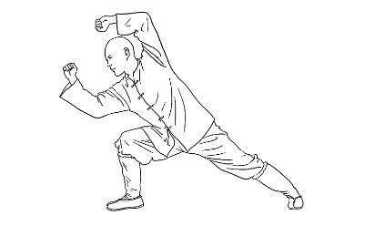 少林拳身法八要