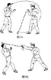 九节鞭技法