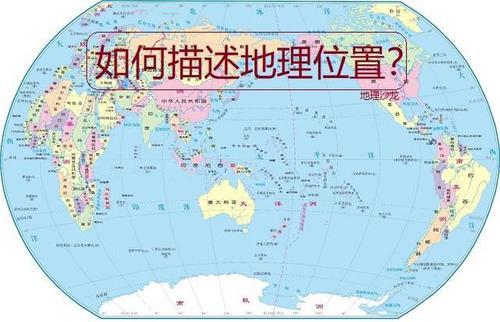 地理事物的表述方法