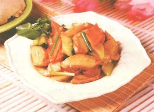 红烧白灵菇