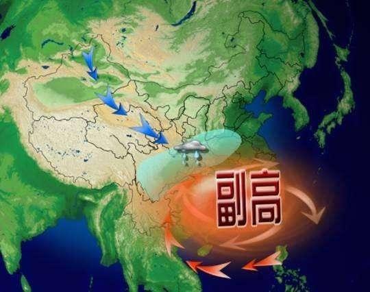 副热带高压与我国的降水和旱涝
