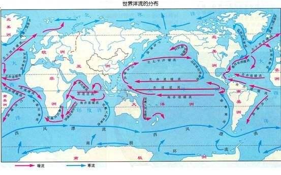洋流对地理环境的影响