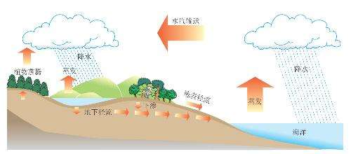 陆地水与水循环