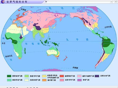 地理环境的地域差异