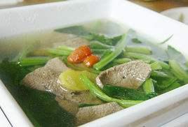 肥羊汤菠菜