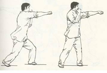 冲拳训练后、后脑勺疼痛