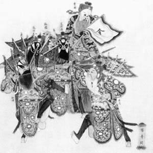 清晚期京剧的形成