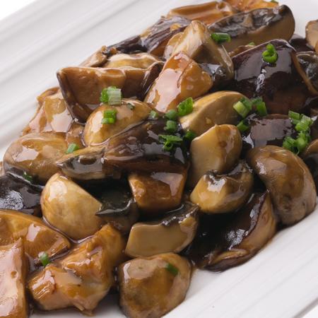 创意食材的制胜绝招双菇炒鲜鲍