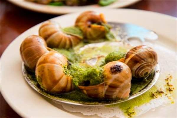 韭香捞拌法国蜗牛