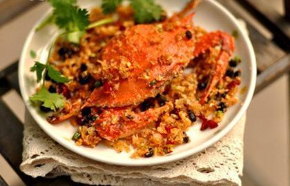 避风塘红胡椒高钙蟹
